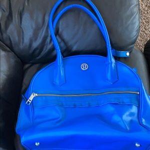 Lululemon travel/gym bag blue